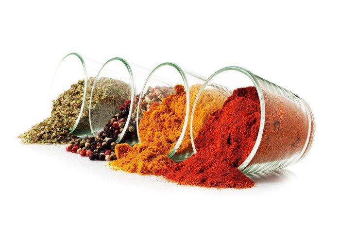 Quadro su Tela Cucina ingredienti, spezie • Pixers® - Viviamo per ...