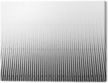 Quadro su Tela Estratto minimalista sfondo bianco a strisce con linee verticali e intestazione. Copia spazio. La texture.