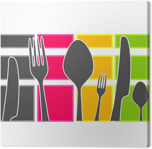 Quadri cucina moderna cheap mensole vendita online mensole moderne in legno in vetro con quadri - Quadri per cucina moderna ...
