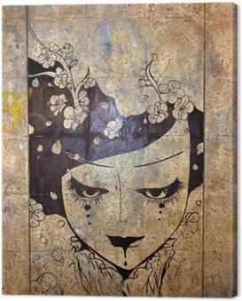 Quadro su Tela Graffiti - street art