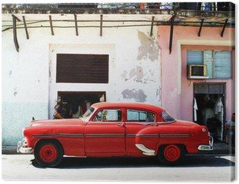 Quadro su Tela Havana auto
