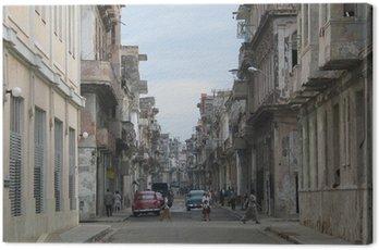Quadro su Tela Havanna, Kuba
