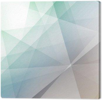 Quadro su Tela Hipster sfondo geometrico trasparente moderno