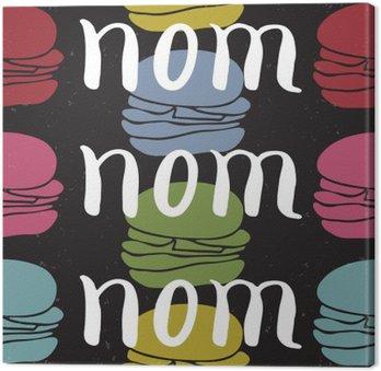 Quadro su Tela Il cibo carta citazione tipografica