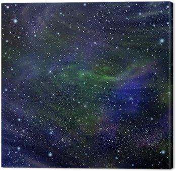 Quadro su Tela Immagine Spazio galassia, illustrazione