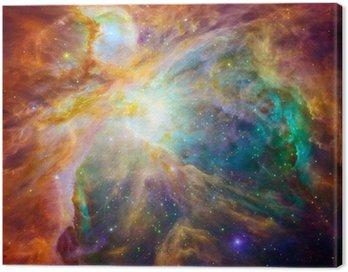 Quadro su Tela La nube cosmica chiamata Nebulosa di Orione