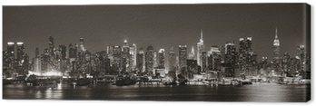 Quadro su Tela Midtown Manhattan Skyline