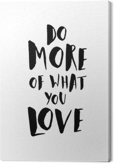 Quadro su Tela Motivational Poster Citazione