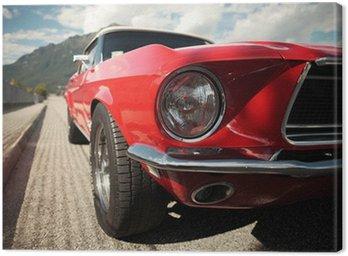 Quadro su Tela Muscle Car Classic