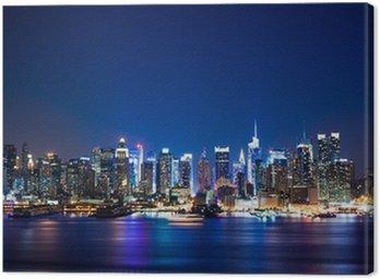 Quadro su Tela New York Manhattan Skyline