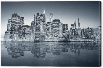 Quadro su Tela New York, Manhattan