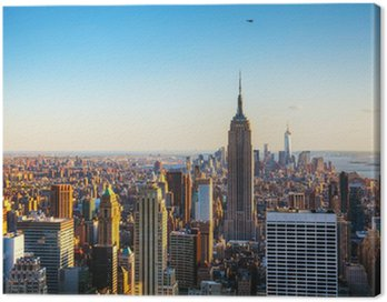 Quadro su Tela New York paesaggio urbano