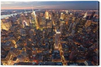 Quadro su Tela New York