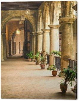 Quadro su Tela Palazzo coloniale a L'Avana Vecchia