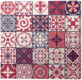Quadro su Tela Piastrelle marocchine modello