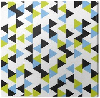 Quadro su Tela Seamless pattern geometrici