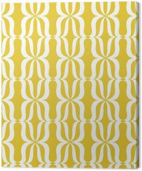 Quadro su Tela Seamless vintage pattern