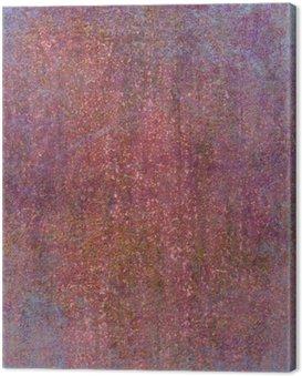 Quadro su Tela Sfondo con texture colorato. texture retrò