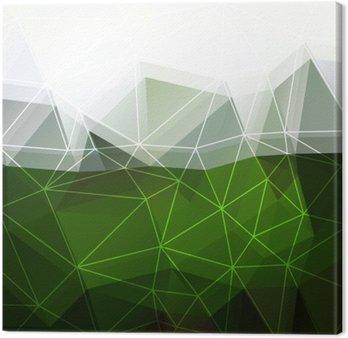 Quadro su Tela Sfondo verde astratto