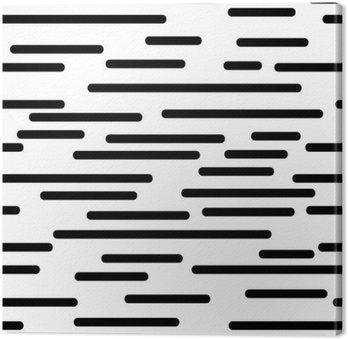 Quadro su Tela Struttura geometrica con linee morbide