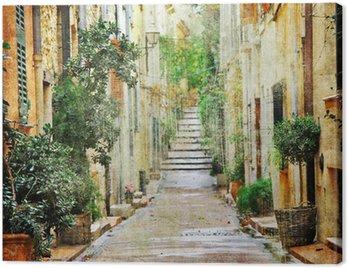 Quadro su Tela Suggestive vie del mediterraneo, foto artistiche