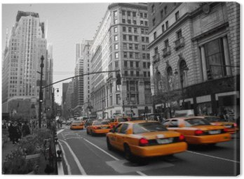 Quadro su Tela Taxi a Manhattan
