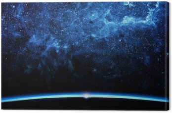 Quadro su Tela Terra e la galassia