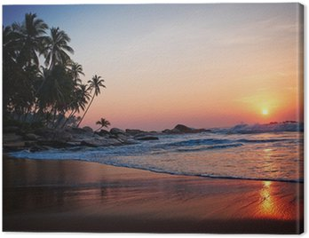 Quadro su Tela Tropical beach