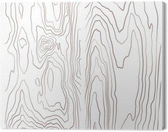 Quadro su Tela Vari di legno in bianco e nero collezione texture illustrazione.