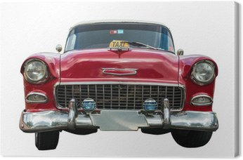 Quadro su Tela Vecchia auto americana
