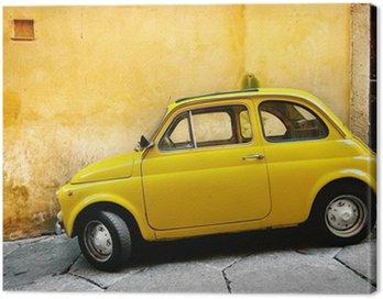 Quadro su Tela Vecchia auto italiana