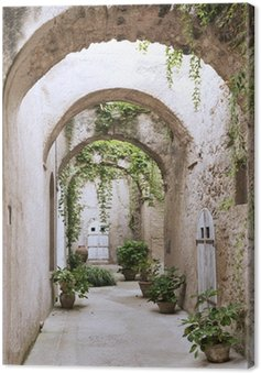 Quadro su Tela Vecchia galleria al Castello