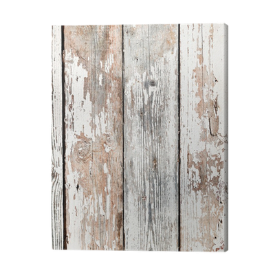 Quadro su tela vecchie tavole di legno shabby pixers viviamo per il cambiamento - Tavole di legno per edilizia ...