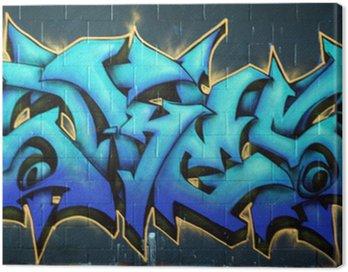 Quadro su Tela Via Graffiti spraypaint