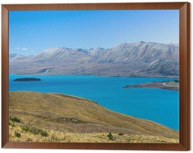 Quadro em Moldura Lake Tekapo, Nova Zelândia