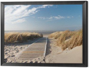 Quadro em Moldura Nordsee Strand auf Langeoog