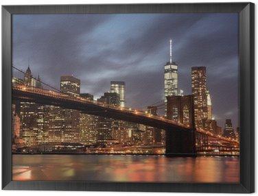 Quadro em Moldura Nova Iorque Manhattan