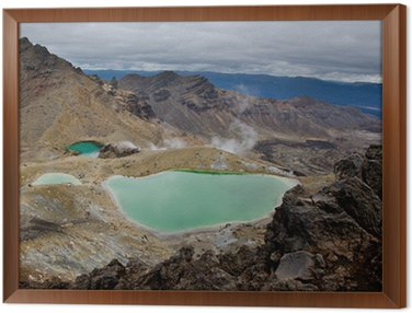 Quadro em Moldura Tongariri National Park, Nova Zelândia
