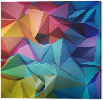 Quadro em Tela Abstract geometric background