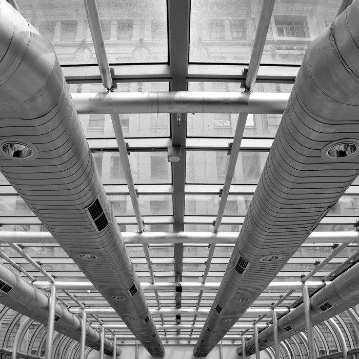 Quadro em Tela Air-conditioning Ducts - Temas