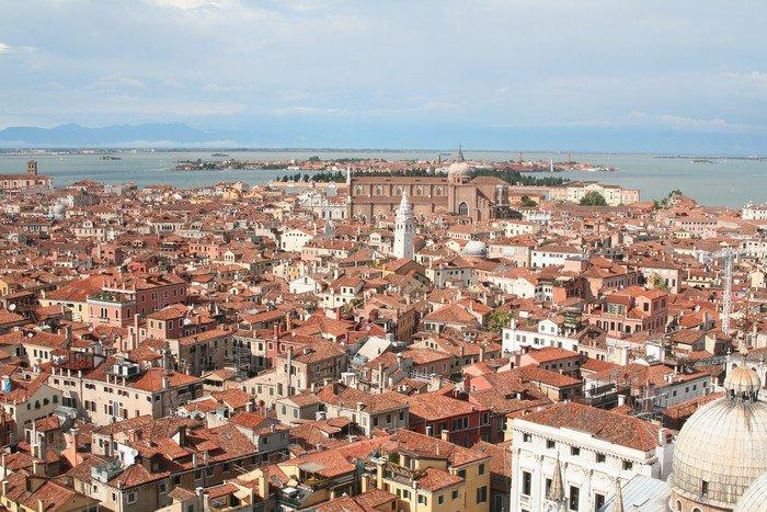 Quadro em Tela an aerial view of Venice - Italy - Outros Outros