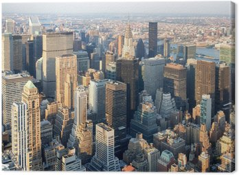 Quadro em Tela Arranha-céus no centro de Manhattan, em Nova York