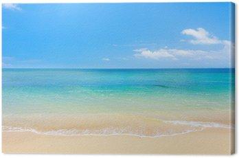 Quadro em Tela beach and tropical sea