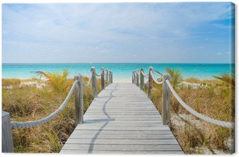 Quadro em Tela Caribbean beach