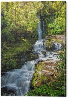 Quadro em Tela Mclean Falls, Catlins, Nova Zelândia