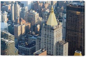 Quadro em Tela Midtown New York City incluindo o clássico Life Building Nova Iorque