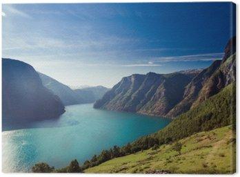 Quadro em Tela Naeroyfjord / Aurlandsfjord na Noruega
