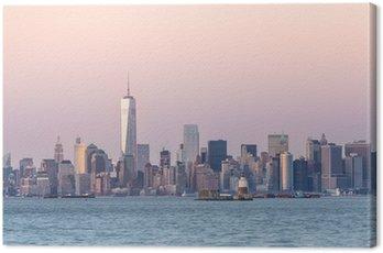 Quadro em Tela Nova York centro de Manhattan