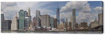 Quadro em Tela Nova York - Panorama di Manhattan
