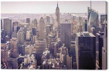 Quadro em Tela Nova York vista da cidade aéreo